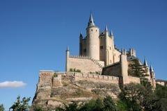 Segovia. Fairy tale castle in Segovia, Spain Stock Photography