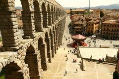Segovia akvedukt Royaltyfri Fotografi