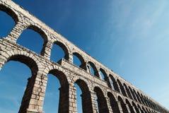 Segovia akvedukt royaltyfri foto