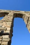 Segovia akvedukt Spanien Arkivbilder