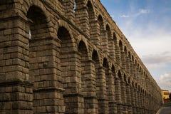 Segovia akwedukt Obrazy Stock