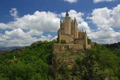 Segovia Alcazar 01 Arkivbild