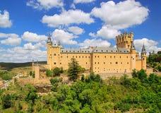 Segovia Alcazar Stock Photo
