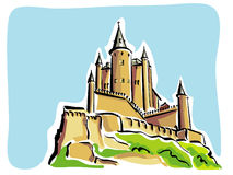 Segovia (Alcazar) Lizenzfreie Stockbilder