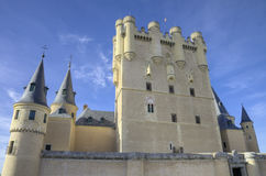 Segovia Alcazar Castle. Ancient Royal palace in Segovia Spain Stock Photo