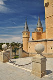 Segovia alcazar castle. Castile, Spain Stock Photography