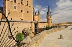 Segovia alcazar castle. Castile, Spain Stock Photo