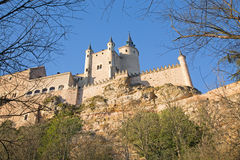 Segovia - Alcazar castle, historical monument Royalty Free Stock Image