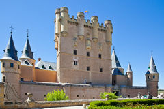 Segovia. Alcazar Castle Stock Image