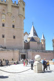 Segovia. Alcazar Castle Stock Photo