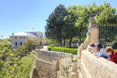 Segovia. Alcazar Castle Stock Photography