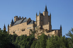 Segovia - The Alcazar - Spain Royalty Free Stock Photo