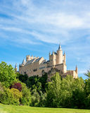 Segovia Alcazar Spain Stock Photo