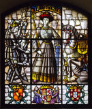 Segovia Alcazar Stained Glasses Stock Images