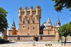 Segovia alcazara Hiszpanii zdjęcia royalty free