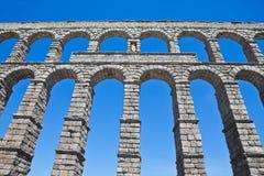 Segovia, ancient aqueduct Royalty Free Stock Photo
