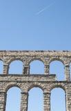 Segovia-Aquädukt Lizenzfreie Stockfotos