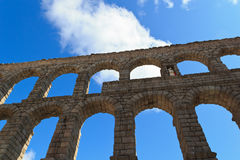 Segovia Aquaduct Stock Afbeeldingen