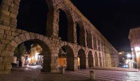 Segovia Aquaduct Royaltyfri Bild