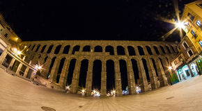 Segovia AquaDuct Royalty Free Stock Images