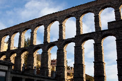 Segovia aqueduct Stock Photography