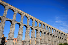 Segovia Aqueduct. Royalty Free Stock Photos