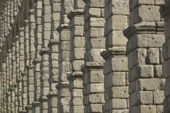 Segovia aqueduct Royalty Free Stock Photo