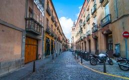 Segovia av Spanien arkivbild