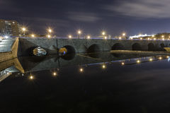 Segovia-Brücke Stockbild