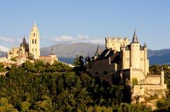 Segovia, Castile y Le?n, Espa?a imagen de archivo
