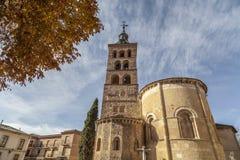 Segovia, Castilla Leon, Spanje royalty-vrije stock afbeelding