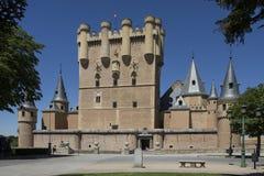Segovia - Castillo de Coca - l'Espagne Photo libre de droits