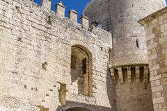 Segovia castle Cuellar Stock Photography