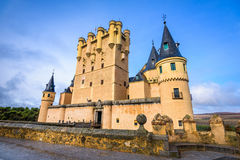 Segovia Castle Spain Stock Images