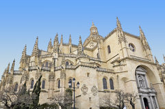 Segovia Cathedral Stock Image