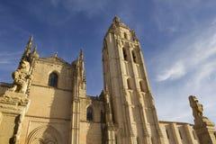 Segovia Cathedral Royalty Free Stock Photo