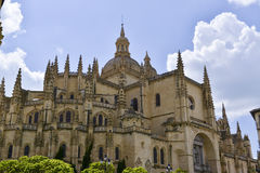 Segovia cathedral. Build between 14th and 18th centuries. Segovia, Spain Stock Photography
