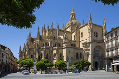 Segovia Cathedral - Castilla-y-Leon - Spain. Royalty Free Stock Images