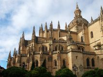 Segovia Cathedral Royalty Free Stock Photo