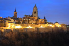 Segovia cathedral Stock Photography