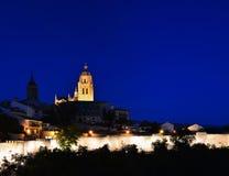 Segovia cathedral. Stock Photos