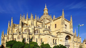 Segovia Cathedral. Royalty Free Stock Photography