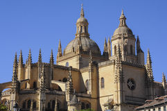 Segovia Cathedral of Saint Mary, Spain Stock Image