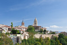 Segovia cathedral, Spain Royalty Free Stock Images