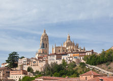 Segovia cathedral, Spain Royalty Free Stock Photos