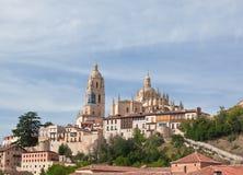 Segovia cathedral, Spain. Segovia cathedral, World Heritage town Segovia, Spain Royalty Free Stock Photos