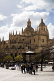 Segovia Cathedral, Spain Royalty Free Stock Image