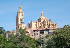 Segovia Cathedral, Spain Stock Photo