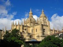 Segovia Cathedral, Spain Royalty Free Stock Photos