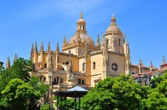 Segovia Cathedral, Spain royalty free stock photo